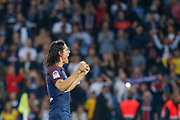 Edinson Roberto Paulo Cavani Gomez (psg) (El Matador) (El Botija) (Florestan) scored a goal and celebrated it during the French championship L1 football match between Paris Saint-Germain (PSG) and Saint-Etienne (ASSE), on August 25, 2017 at Parc des Princes, Paris, France - Photo Stéphane Allaman / ProSportsImages / DPPI