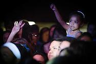A young fan at a Plain White T's concert in Yokosuka Japan