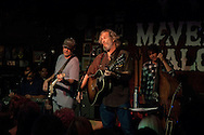 Jeff Bridges performs songs from his new, self-titled album at Maverick Saloon in Santa Ynez, California on June 23, 2011 with Chris Pelonis, left, and Randy Tico (standup bass). Jeff Bridges' self-titled album is due for an August 16, 2011, release on Blue Note Records.