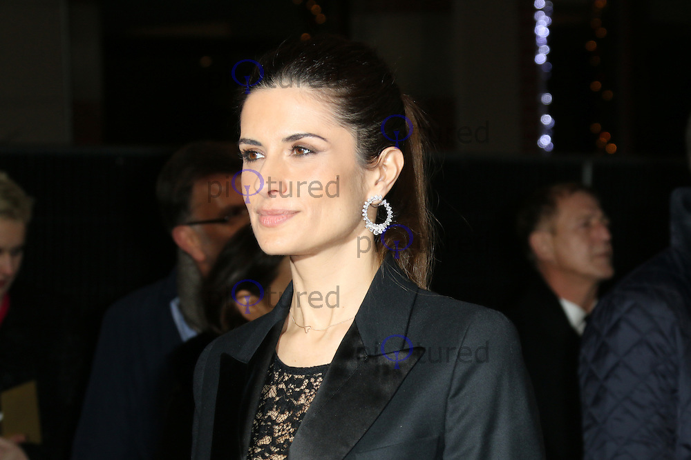 Livia Firth, The Railway Man - UK Film Premiere, Odeon West End, Leicester Square, London UK, 04 December 2013, Photo by Richard Goldschmidt