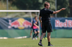 07.07.2015, Steinbergstadion, Leogang, AUT, Trainingslager, RB Leipzig, im Bild Ralf Rangnick (Trainer RB Leipzig) // during the Trainingscamp of German 2nd Bundesliga Club RB Leipzig at the Steinbergstadium in Leogang, Austria on 2015/07/07. EXPA Pictures © 2015, PhotoCredit: EXPA/ JFK