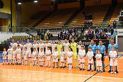 Team Slovenai before futsal friendly match between National teams of Slovenia and Italy, on December 3, 2019 in Maribor, Slovenia. Photo by Milos Vujinovic / Sportida