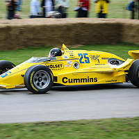 March 86C Cosworth 1986 at Goodwood Festival of Speed 2008