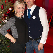 NLD/Hilversum/20151207- Sky Radio's Christmas Tree for Charity, Lone van Roosendaal en Barry Atsma