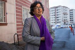 Ayse Gokkan photographed in Diyarbakir, Turkey on March 21, 2017.