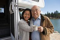 Senior Couple on Road Trip