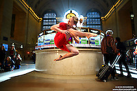 Dance As Art New York City Photography Project Grand Central Series with dancer, Valentina Sytcheva