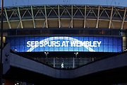 See Spurs at Wembley during the Champions League match between Tottenham Hotspur and Juventus FC at Wembley Stadium, London, England on 7 March 2018. Picture by Matthew Redman.