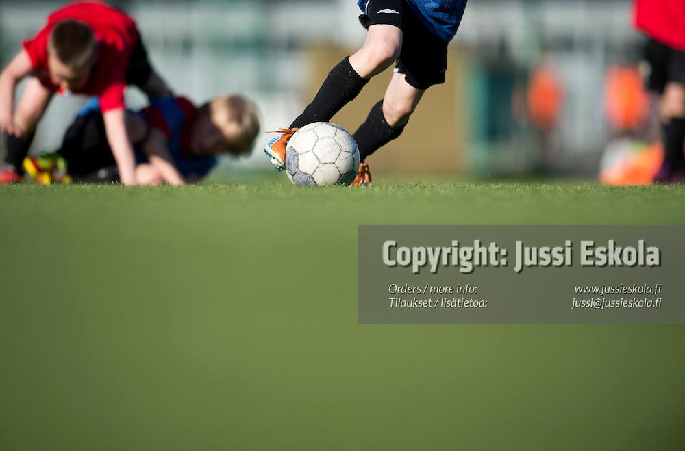 KäPa United 02. Harjoitukset. Käpylän urheilupuisto, Helsinki 23.5.2012. Photo: Jussi Eskola