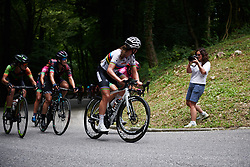 Chantal Blaak (NED) on the final climb at Giro Rosa 2018 - Stage 10, a 120.3 km road race starting and finishing in Cividale del Friuli, Italy on July 15, 2018. Photo by Sean Robinson/velofocus.com