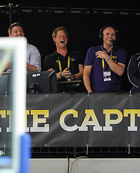 Prince Harry cheers the Great Britain team on to victory and Gold in the final of the Wheelchair basketball - Photo mandatory by-line: Joe Meredith/JMP - Mobile: 07966 386802 - 13/09/14 - SPORT - FOOTBALL - London - Copper Box Arena - Invictus Games Day 3
