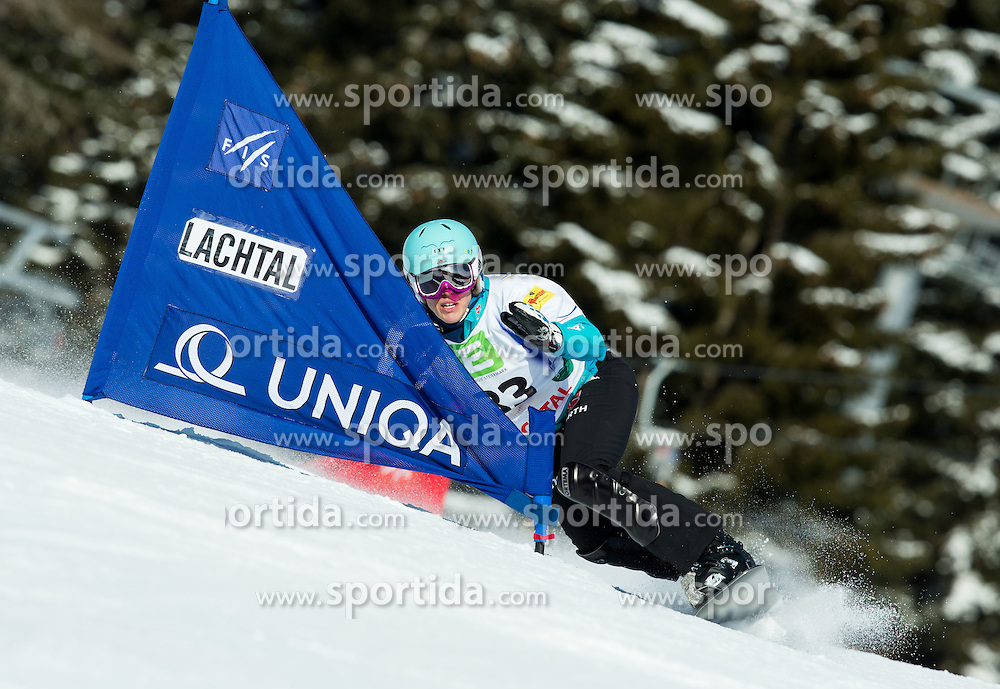 Isabella Laboeck of Germany competes during Elimination of the Ladies' Parallel Giant Slalom at FIS World Championships of Snowboard and Freestyle 2015, on January 23, 2015 at the WM Piste in Lachtal, Austria. Photo by Vid Ponikvar / Sportida