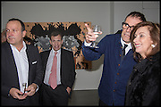 SIMON LEE; Poju Zabludowicz; DEXTER DALWOOD; ANITA Zabludowicz. - London Paintings, private view, simon lee gallery, 12 berkeley st. w1. 17 Nov 2014