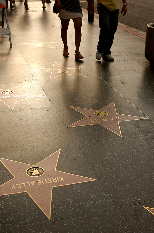 Walk of Fame, Hand and Foot prints, Hollywood Boulevard, Hollywood, Los Angeles, California, United States of America