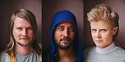"""Collaborating musicians Robyn and Röyksopp have teamed up to make a mini-album to be released this year. They pose for portraits in Mexico City, Mexico, on the day of their """"Do It Again"""" video directed by Danish filmmaker Martin De Thurah."""