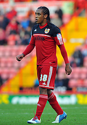 Bristol City's Neil Danns - Photo mandatory by-line: Joe Meredith/JMP  - Tel: Mobile:07966 386802 17/11/2012 - Bristol City v Blackpool - SPORT - FOOTBALL - Championship -  Bristol  - Ashton Gate Stadium -