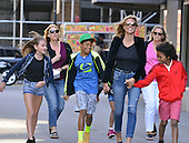 Heidi Klum and family out in New York
