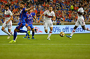Przemyslaw Frankowski (11) of the Chicago Fire chases down the ball during a MLS soccer game, Saturday, September 21, 2019, in Cincinnati, OH. Chicago tied Cincinnati 0-0. (Jason Whitman/Image of Sport)
