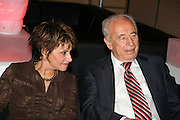 Shimon Peres member of parliament and Vice Premier, ex prime minister of Israel and ex leader of the labour party. and  Dalia Itzik Minister of Communications from the labour party. December 2005