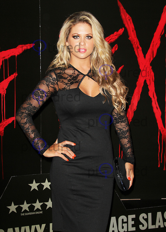 Bianca Gascoigne, You're Next VIP screening, Soho Hotel, London UK, 13 August 2013, (Photo by Richard Goldschmidt)