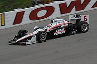 Ryan Briscoe, Iowa Corn Indy 250, Iowa Speedway, Newton, IA  USA,  6/20/2010