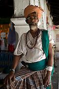 Man with turban. Dargah shrine. Nagore.