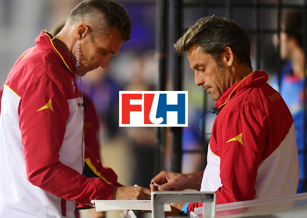 Odisha Men's Hockey World League Final Bhubaneswar 2017<br /> Match id:15<br /> Spain v Australia<br /> Foto:<br /> COPYRIGHT WORLDSPORTPICS FRANK UIJLENBROEK