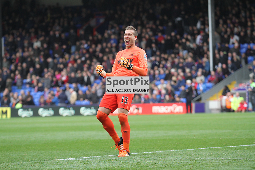 Adrian shows his joy as West Ham win 3-1 at Selhurst Park