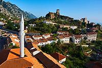Albanie, province de Durres, ville historique de Kruja // Albania, Durres province, old town of Kruja