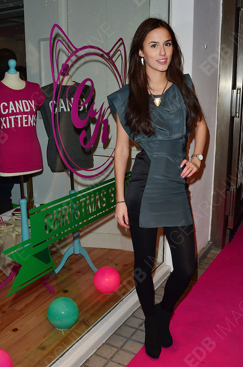 05.DECEMBER.2012. LONDON<br /> <br /> JAMIE LAING FROM MADE IN CHELSEA ATTENDS A PARTY TO CELEBRATE THE LAUNCH OF HIS NEW 'CANDY KITTENS' STORES, LONDON<br /> <br /> BYLINE: EDBIMAGEARCHIVE.CO.UK/JOE ALVAREZ<br /> <br /> *THIS IMAGE IS STRICTLY FOR UK NEWSPAPERS AND MAGAZINES ONLY*<br /> *FOR WORLD WIDE SALES AND WEB USE PLEASE CONTACT EDBIMAGEARCHIVE - 0208 954 5968*
