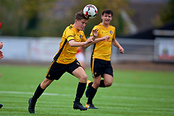 MERTHYR TYDFIL, WALES - Thursday, November 2, 2017: Newport County's Ryan Scrivens during an Under-18 Academy Representative Friendly match between Wales and Newport County at Penydarren Park. (Pic by David Rawcliffe/Propaganda)