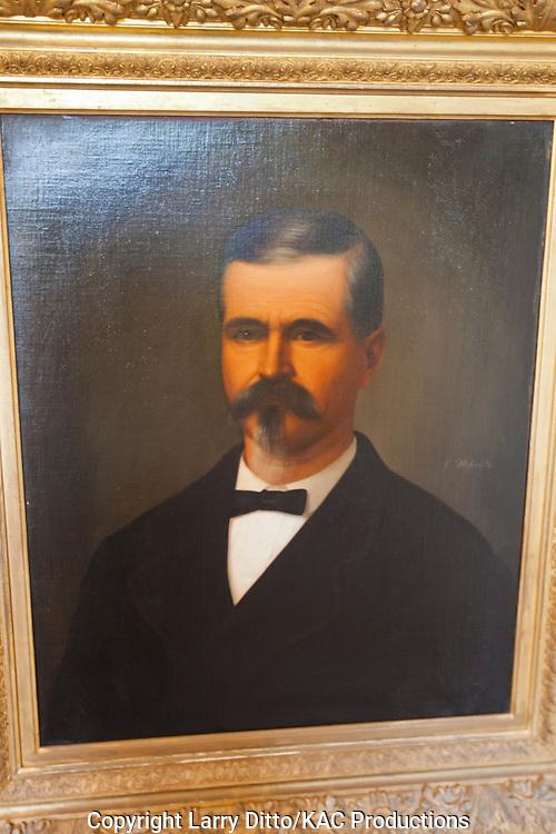 Mifflin Kennedy, early Texas settler and rancher formed Kennedy Ranch on Texas coast
