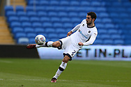 Conor McLaughlin of Millwall in action. EFL Skybet championship match, Cardiff city v Millwall at the Cardiff city stadium in Cardiff, South Wales on Saturday 28th October 2017.<br /> pic by Andrew Orchard, Andrew Orchard sports photography.