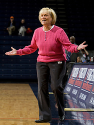 Virginia Cavaliers head coach Debbie Ryan   ..The Virginia Cavaliers women's basketball team faced Team Concept in an exhibition basketball game at the John Paul Jones Arena in Charlottesville, VA on November 5, 2007.