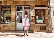 GANGI, SICILY, Attilio Scavuzzo, the Butcher
