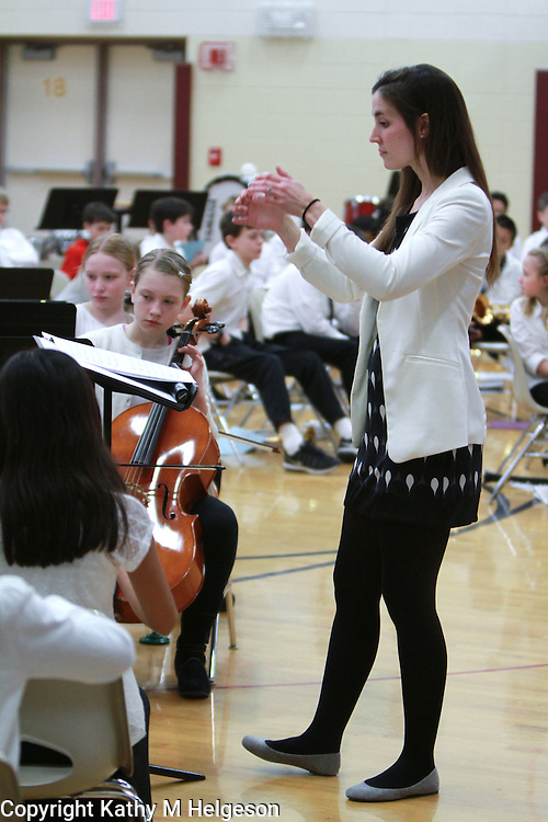 Valley Crossing Elementary School <br /> Orchestra and Band concert 2017