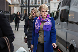 © Licensed to London News Pictures. 02/12/2016. London, UK. Ambassador of Ukraine to the UK Natalia Galibarenko arriving at Chatham House for Boris Johnson's first set piece speech as Foreign and Commonwealth Secretary. Photo credit : Tom Nicholson/LNP