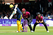 Sam Northeast of Hampshire batting during the Royal London 1 Day Cup Final match between Somerset County Cricket Club and Hampshire County Cricket Club at Lord's Cricket Ground, St John's Wood, United Kingdom on 25 May 2019.