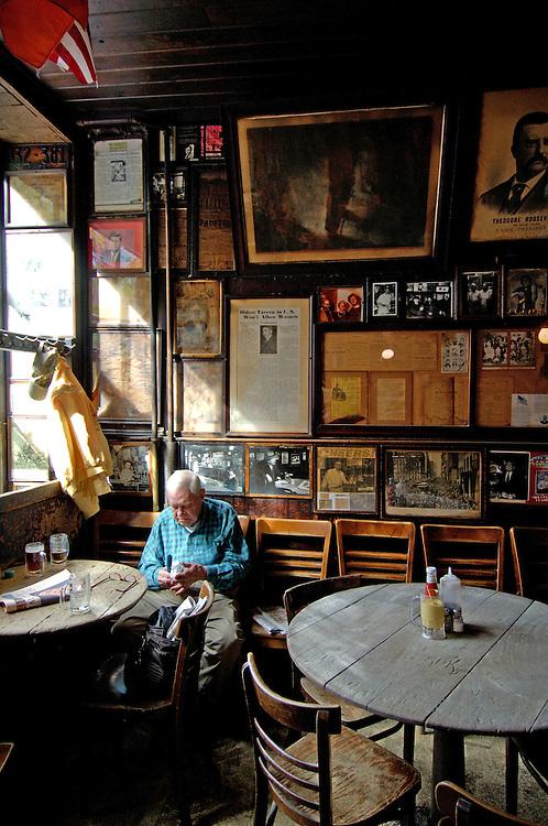 Mc Sorley's Old Ale House, Pub, 15 East 7th Street, East Village, Manhattan, New York, New York, United States of America