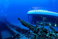 Atlantis Submarine at the Carthaginian II, Maui Hawaii