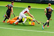 AMSTELVEEN - nederland tegen belgie tijdens het Europees Kampioenschap hockey. ROBIN UTRECHT