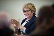 Margaret Hodge supports Will Scobie at an event in the constituency in Broadstairs, 22nd  April 2015.