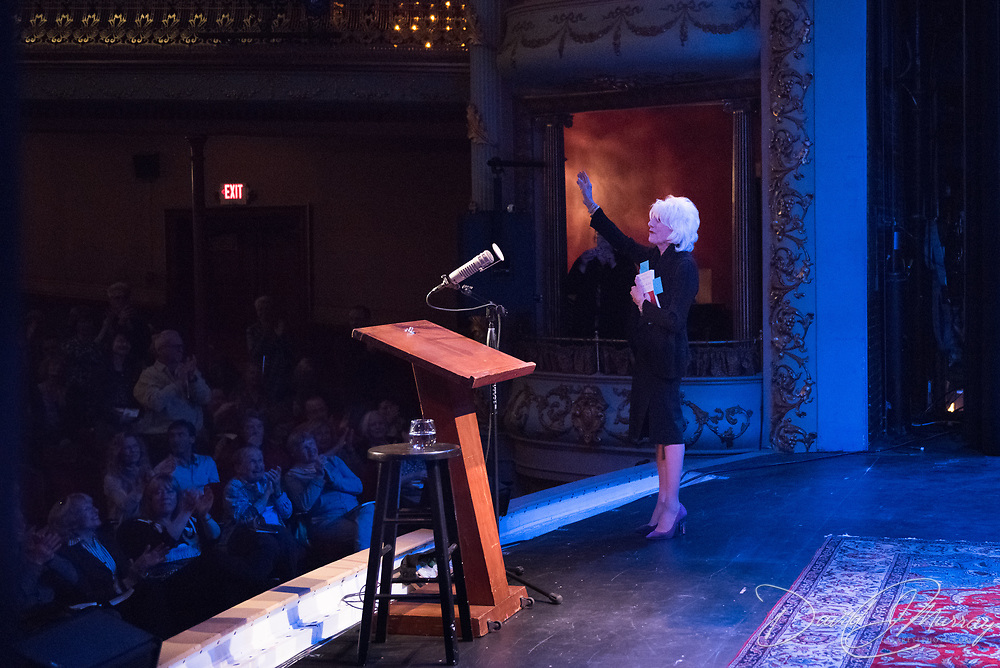 Diane Rehm speaks at The Music Hall, May 2, 2017