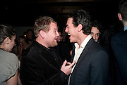 James Corden;  Luke Evans;, InStyle's Best Of British Talent Party in association with Lancome. Shoreditch HouseLondon. 25 January 2011, -DO NOT ARCHIVE-© Copyright Photograph by Dafydd Jones. 248 Clapham Rd. London SW9 0PZ. Tel 0207 820 0771. www.dafjones.com.