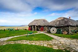 Skye Museum of Island Life, Kilmuir, Isle of Skye, Scotland<br /> <br /> (c) Andrew Wilson | Edinburgh Elite media