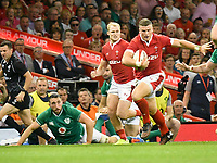 Rugby - 2019 pre-Rugby World Cup warm-up (Under Armour Summer Series) - Wales vs. Ireland<br /> <br /> Scott Williams, of Wales breaks, at Principality (Millennium) Stadium.<br /> <br /> COLORSPORT/WINSTON BYNORTH