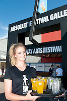 Isabelle McLoughlin from Barna   at the opening of the ABSOLUTE Festival Galway on the Headford Road Galway which is part of the Galway Arts festival. Picture:Andrew Downes