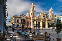 CATEDRAL (MHN Monumento Histórico Nacional), PALACIO EPISCOPAL Y PLAZA 9 DE JULIO, CIUDAD DE SALTA, PROV. DE SALTA, ARGENTINA