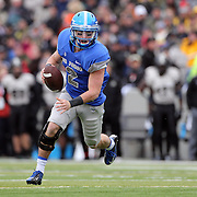 Quarterback Kale Pearson, Air Force, in action during the Army Black Knights Vs Air Force Falcons, College Football match at Michie Stadium, West Point. New York. Air Force won the game 23-6. West Point, New York, USA. 1st November 2014. Photo Tim Clayton