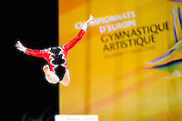 Illustration - 15.04.2015 - Qualifications - Championnats d'Europe Gymnastique artistique - Montpellier<br />